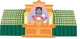 祭壇のイラスト
