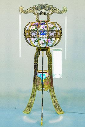 回り灯籠(ゴールド)のイメージ