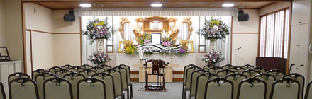 JAふくおか八女葬祭センター まごころ会館長浜 まごころ会館山内 小ホール